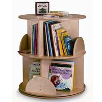 Two-Shelf Book Carousel