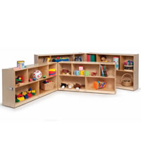 Fold and Roll Storage Cabinets