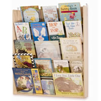 Wall-Mounted Book Display