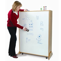 Roll and Write Backpack Storage Unit