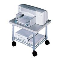 Wire Machine Under-Desk Printer/Fax Stand