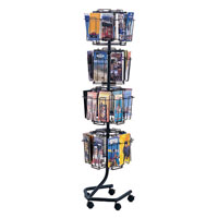 Wired™ Rotary Magazine and Brochure Display Racks
