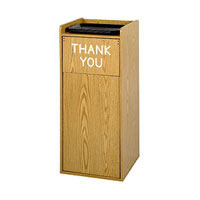 Wooden Waste Receptacles