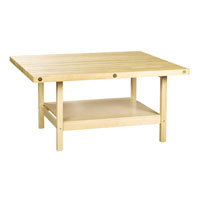 Wood Multi-Station Workbench
