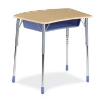 ZUMA® Series Bowfront Student Desk