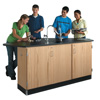 4 Student Science Table and Lab Workstation