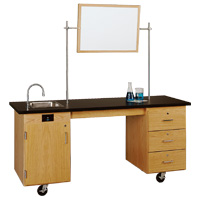 Mobile Lab Demonstration Carts