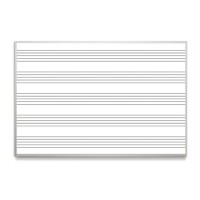 Music Lined Magnetic Whiteboards