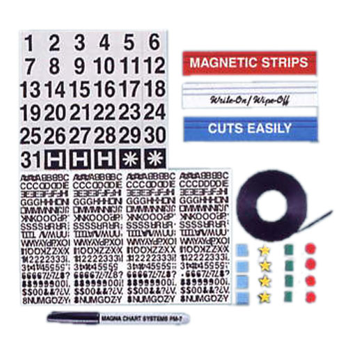 Magnetic Accessory Kit for Multipurpose Applications