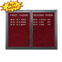 Letter Boards, Quartet Boards, Enclosed Letter Board