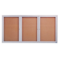 Indoor Enclosed Cork Bulletin Boards