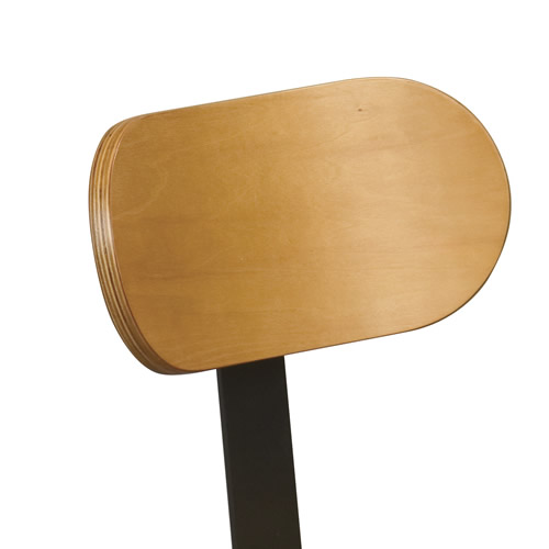 Backrest Accessory for the Adjustable Lab Stool