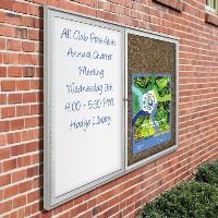 Weather Sentinel Outdoor Bulletin Board