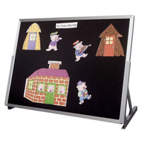 Flannel Tabletop Easels