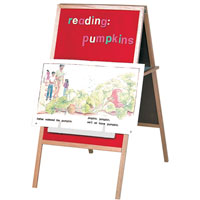 Magnetic Flannel Easel