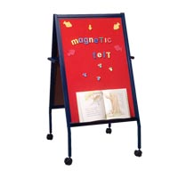 Mobile Magnetic Flannel Easel