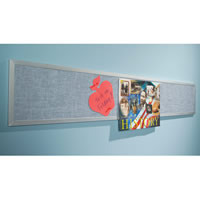 Tackboard Display Rails and Panels
