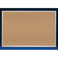 Natural Cork Bulletin Boards with Wood or Aluminum Frame
