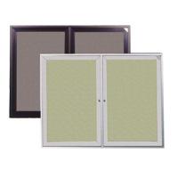 Indoor Enclosed Fabric Bulletin Boards