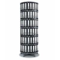 Binder Storage Carousels & Reference Organizers