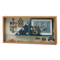 Flag & Memento Display Cases