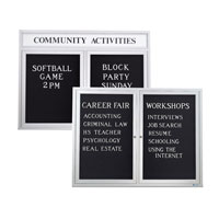 Outdoor Enclosed Letterboards