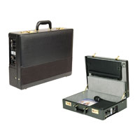 Black Pa-In-Case Attache Sound Lectern